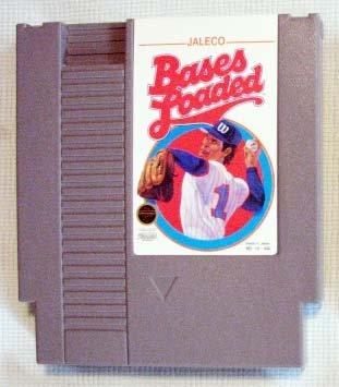 NES BASES LOADED Nintendo Video Games