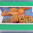 KARNOV Famicom Video Games NES Import Famiclone