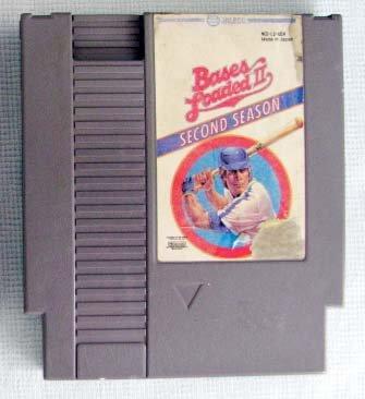 NES BASES LOADED II Nintendo Video Games