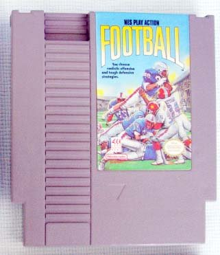 NES PLAY ACTION FOOTBALL Nintendo Video Games