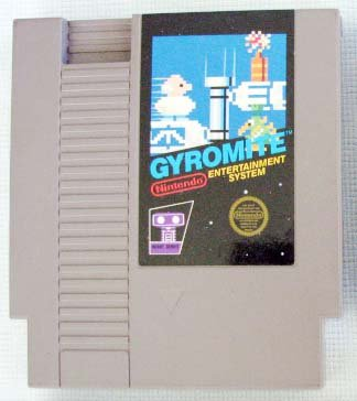 NES GYROMITE Nintendo Video Games