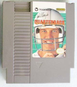 NES JOHN ELWAY'S QUARTERBACK Nintendo Video Games