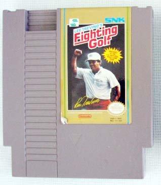NES LEE TREVINO'S FIGHTING GOLF Nintendo Video Games
