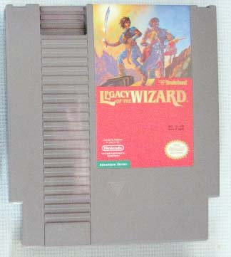 NES LEGACY OF THE WIZARD Nintendo Video Games