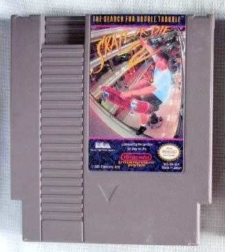 NES SKATE OR DIE 2 Nintendo Video Games