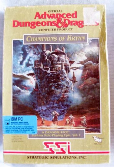 AD&D Champions of Krynn PC Video Games