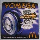Yomega D-FORCE FIRESTORM Yoyo McD Promo
