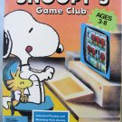 Vintage Peanuts SNOOPY GAME CLUB - IBM PC Game