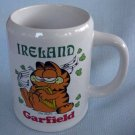 Garfield Ceramic IRELAND Large Stein Mug