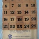 "Vintage ""MYSTIFYING 65"" Brain Teaser Wood Puzzle Game Sudoku"