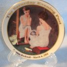 Norman Rockwell GIRL AT THE MIRROR Mini Collector Plate
