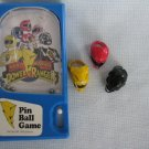 POWER RANGERS RINGS & MINI PINBALL