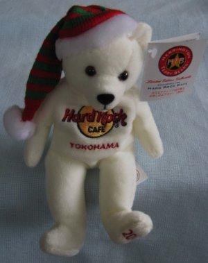 Hard Rock Cafe Japan YOKOHAMA White Christmas Beara Bear HRC 2003