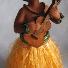 Hawaiian HULA GIRL w UKULELE Bobble Nodder