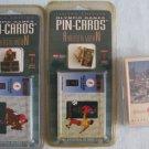 1996 ATLANTA OLYMPICS Pin-Cards + Playing Cards MOC