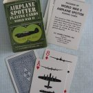 WWII Airplane Spotter Playing Cards Allied And Axis