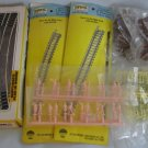 HO Train Tracks Figures Lot + Bachmann Simplimatic Plug-in Wiring