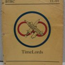 Timelords Greg Porter RPG Book