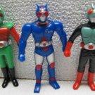Vintage KAMEN RIDER Masked Rider Vinyl Figures - Saban