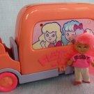 FLATSY Ice Cream Truck & Doll Playset