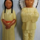 Vintage INDIAN & SQUAW Figures