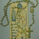 Vintage Glo-In-The-Dark Rosary