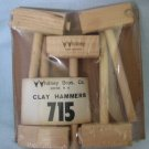 Arts & Crafts CLAY HAMMERS by Whitney Bros