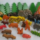 Wood Animal Lot - Pretend Play