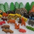 Wood Animal Lot - Pretend Play