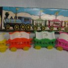 Vintage 6 Car Circus Train - Birthday Cake Toppers