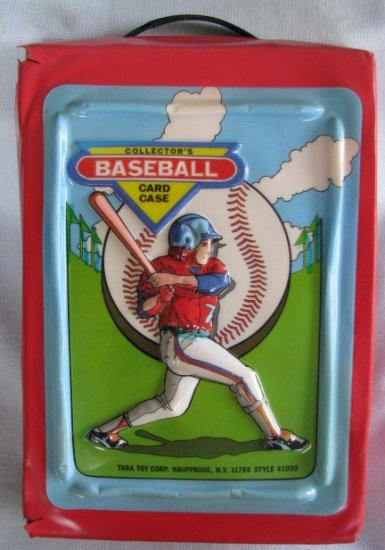 Buy Tara Toys - Vintage Tara Toy Collectors Baseball Card Case