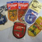 Embroidered State Patch Collection MIP