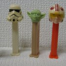 5 Star Wars PEZ Dispensers Yoda Clone Trooper +
