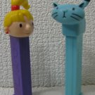 BOB THE BUILDER PEZ Dispensers Wendy and Pilchard