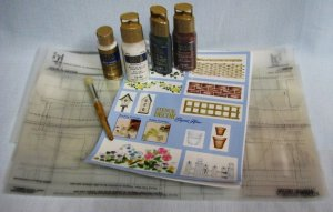 Garden Scenes Stencil Kit Lot by PLAID