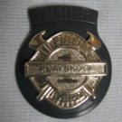 Vintage Fire Chief Badge - Playskool