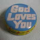 God Loves You Yoyo Tin YO-YO