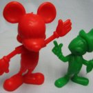 Marx Vintage Jiminy Cricket and Mickey Figures