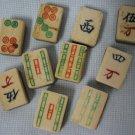 Mah Jong Jongg Bamboo Bone Orphan Tiles 10
