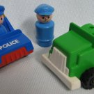Fisher Price Little People Police and Truck