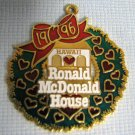 1996 Ronald McDonald House Hawaii Gold Dangler McDonalds