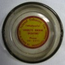 Island Tobacco Co Glass Ashtray - Cigarette Machine Operators