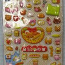 Puffy Bear and Bread Stickers MIP Koguma Pan Scrapbooking