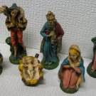 Nativity Creche Figurines 6 Pieces