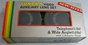 Tundra Video Camera Auxiliary Lens Set