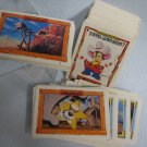 An American Tail Fievel Goes West 150 Trading Cards Set