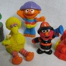 Vintage Sesame Street OSCAR ERNIE Figures