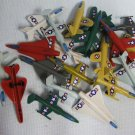 20 Plastic FIGHTER JETS Airplane Lot