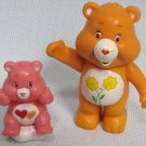 Care Bears Love A Lot + Friend Rattle Figures
