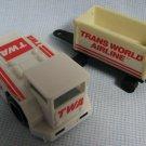 Vintage TWA AIRLINES Playset Vehicles - Remco